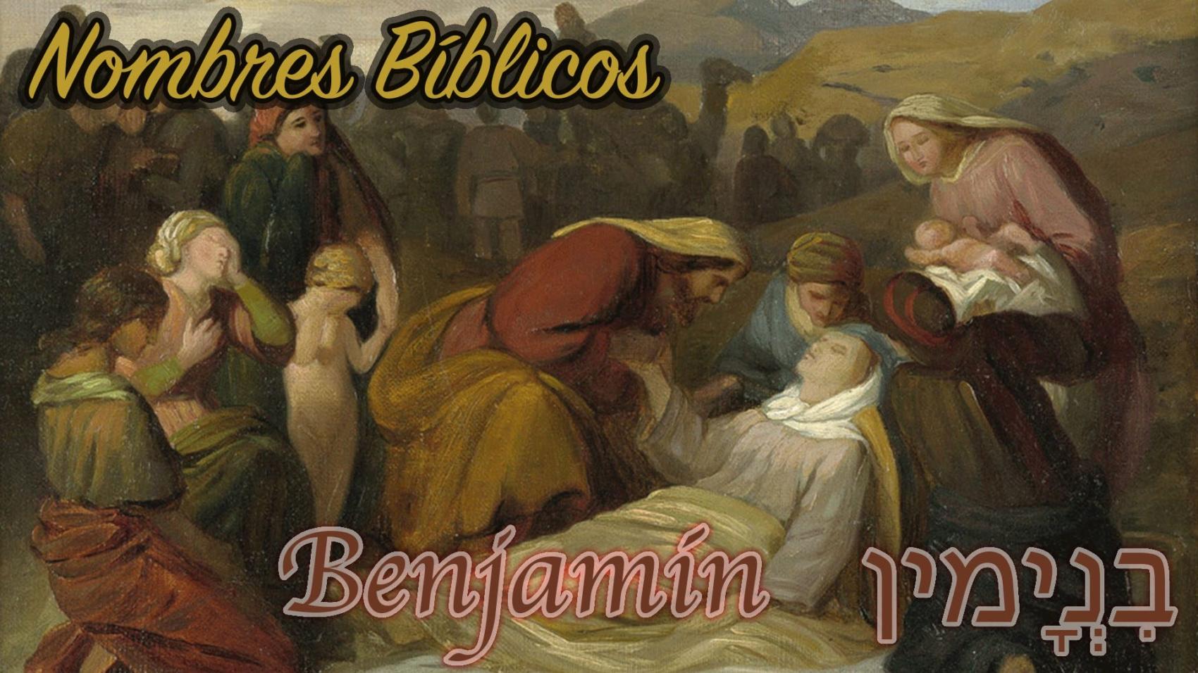 nombres biblicos-benjamin